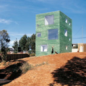 Vertical House Plan For Family Living in Chile