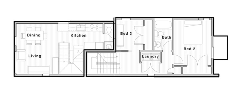 vertical house raises sustainable seattle living to new heights 20 - View Small Vertical House Design Gif