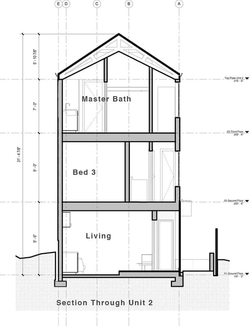 vertical house raises sustainable seattle living to new heights 27 - 40+ Small Vertical House Design  Pictures