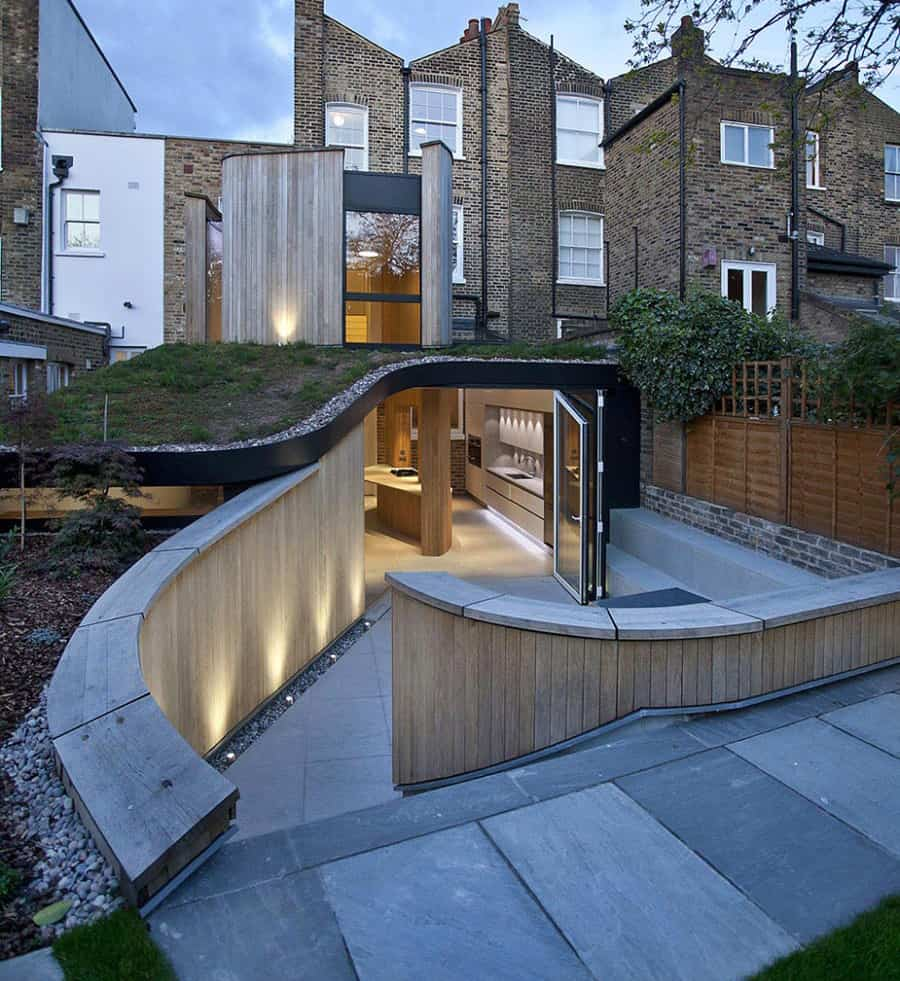 Victorian Home In London Gets Curvaceous Bodacious Extension