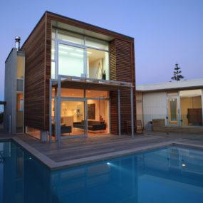 Modern Coastal House in Waimarama, New Zealand