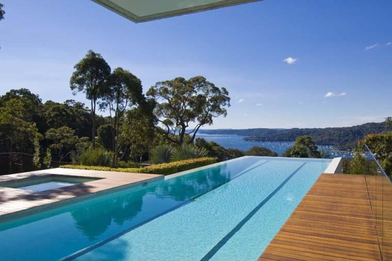 walker house 13 Modern Luxury Retreat in Sydney, Australia Suburb   ocean view house