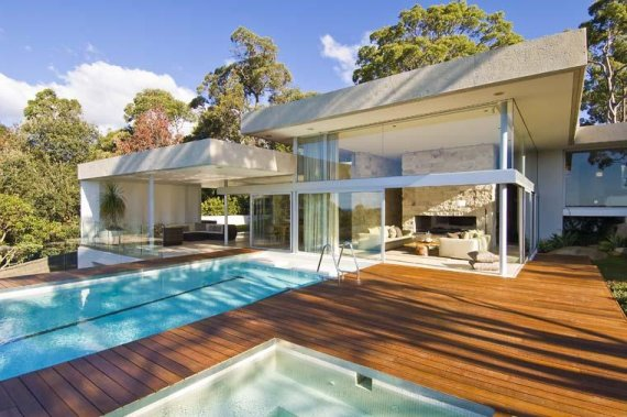 walker house 2 Modern Luxury Retreat in Sydney, Australia Suburb   ocean view house