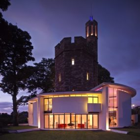 Luxurious Tower Turned Home – Ellis Williams Architects Lymm Water Tower House in Cheshire, England