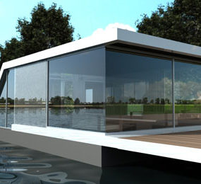 Water Homes 'Watervilla' – modern aquatic architecture at its best