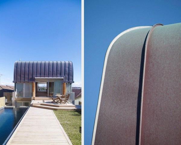 wave shaped house bondi beach australia 7