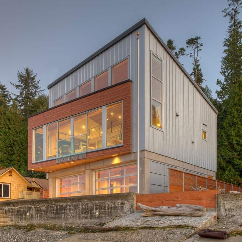 Waterfront Home Design Ideas: Tsunami-proof Waterfront House