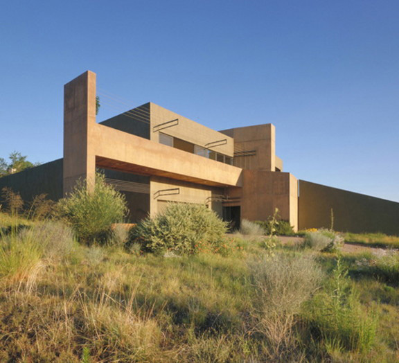 west mesa house 1 Desert House in Albuquerque by Modern Architect Antoine Predock