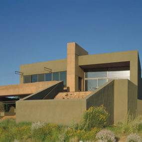 Desert House in Albuquerque by Modern Architect Antoine Predock