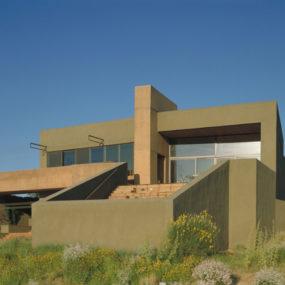 Desert House in Albuquerque by Modern Architect Antoine Predock