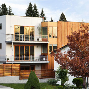 Exotic Wood Home in Seattle by Pb Elemental Architecture