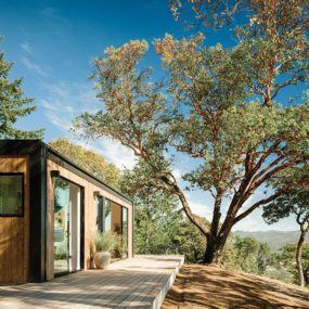 Handicap Accessible Wooden Prefab in California