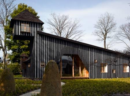 yakisugi house 2 Modern Japan Architecture by Terunobu Fujimori   Unknown Japanese Architecture
