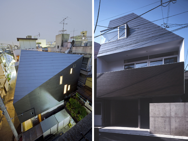 yamashita music house 1 Japanese House Design – three wall design houses 24 sound proof rooms!