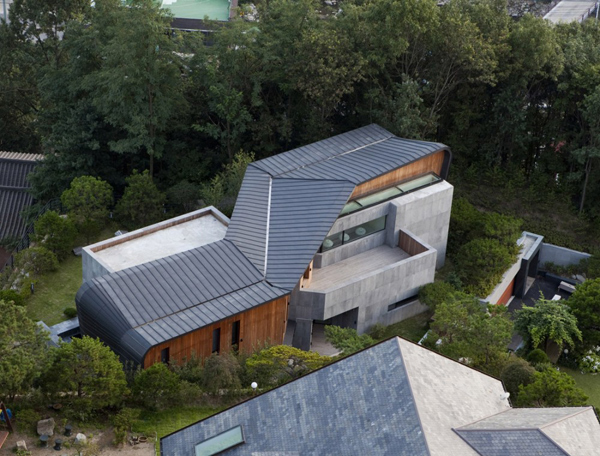 z house 1 South Korea Architecture   amazing concrete house