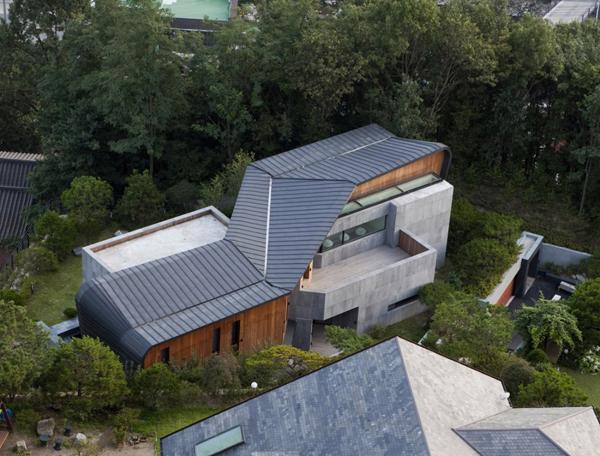 Z House 1 South Korea Architecture Amazing Concrete