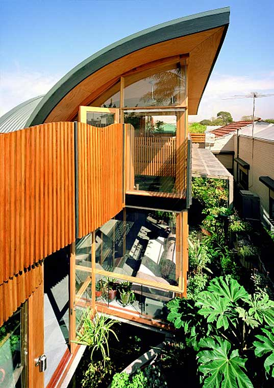 Modern Day Green House North Carlton Green House By Zen Architects