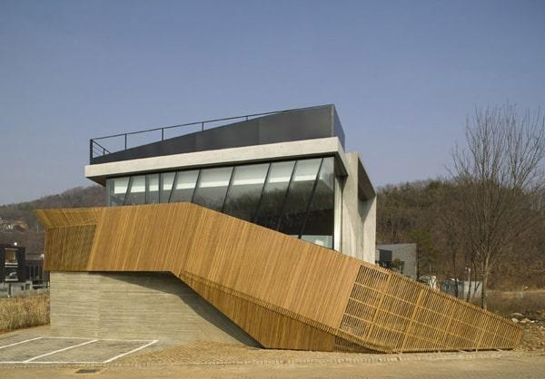 zen style home korea 3 Zen Style Architecture Brings Calm to Korean City