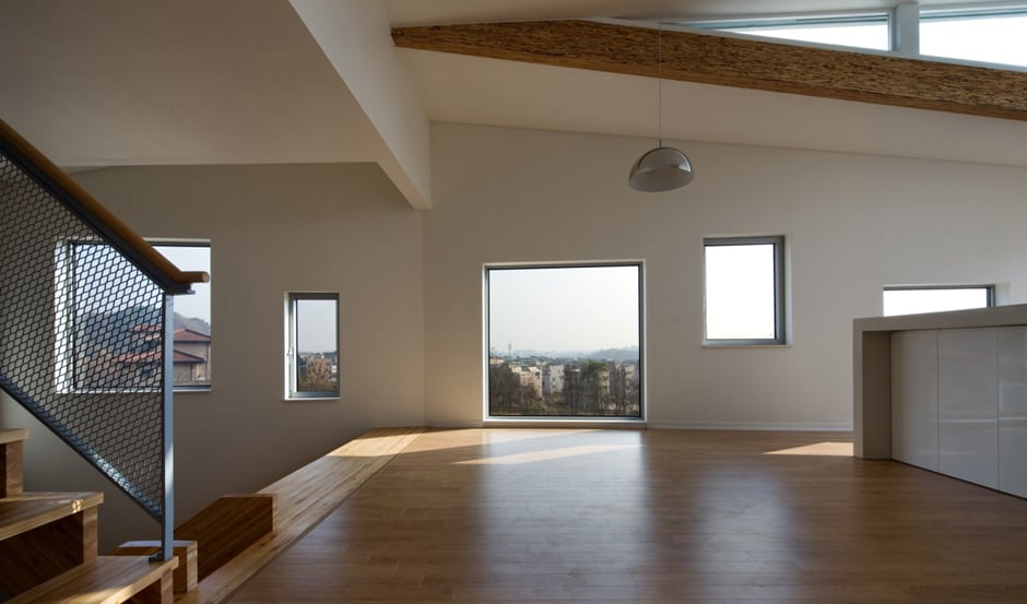 View In Gallery Zigzag House With Panoramic Views And A Slide