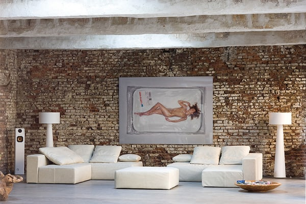 raw materials modern home aabe 3 Decorating with Exposed Brick Walls in a Modern Home