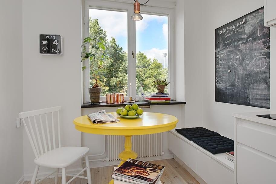 Beautiful Apartment Kitchen Table Ideas - Decorating Interior ...