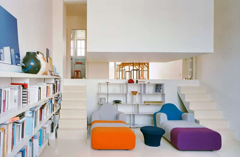 View In Gallery Super Cool Suspended Bedroomcreatively Maximizes 50m2  Apartment 4