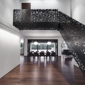 Stunning Iron Lace Staircase Is A Whimsical Swarm of Circles