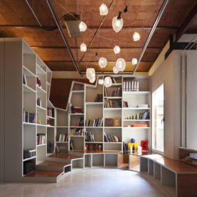 Rotunda Library Apartment Design