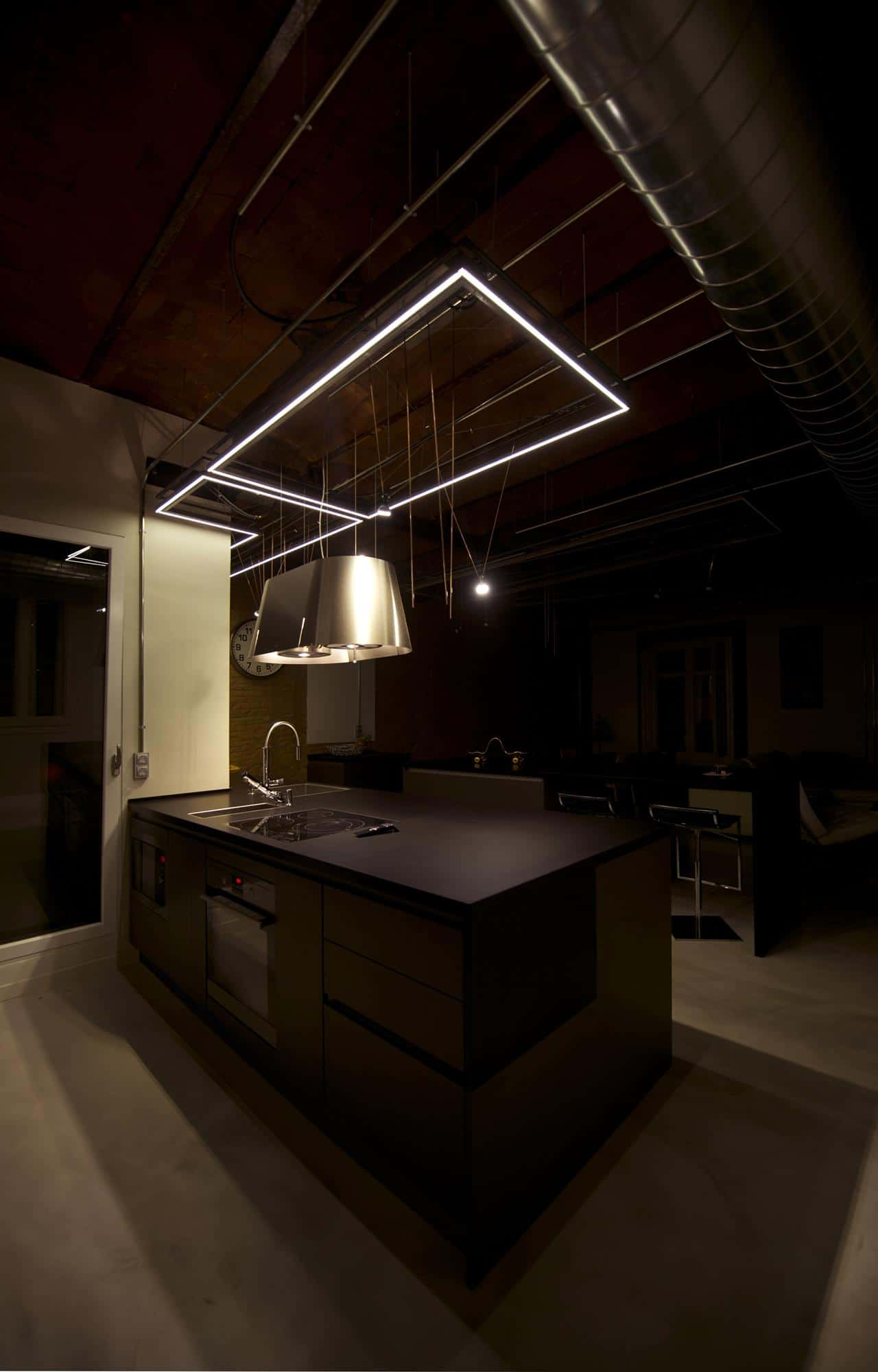 roof lighting design. Suspended Kitchen Lighting. View In Gallery Rotunda-library-aapartment- Design-5 Roof Lighting Design D