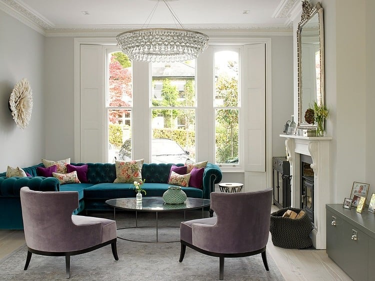 View In Gallery Wimbledon Residence Layers Multiple Styles Eclectic  Done Right