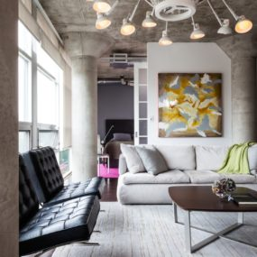 Small Loft designed for Big Impact