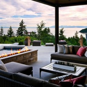 Ocean View Home Embraces Earth – Fire – Air – Water