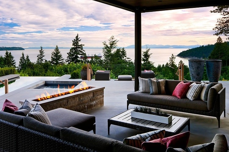 Nice View In Gallery Ocean View Home Embraces Earth Fire Air Water 1 Terrace  Thumb 630x420 27480 Ocean View Home