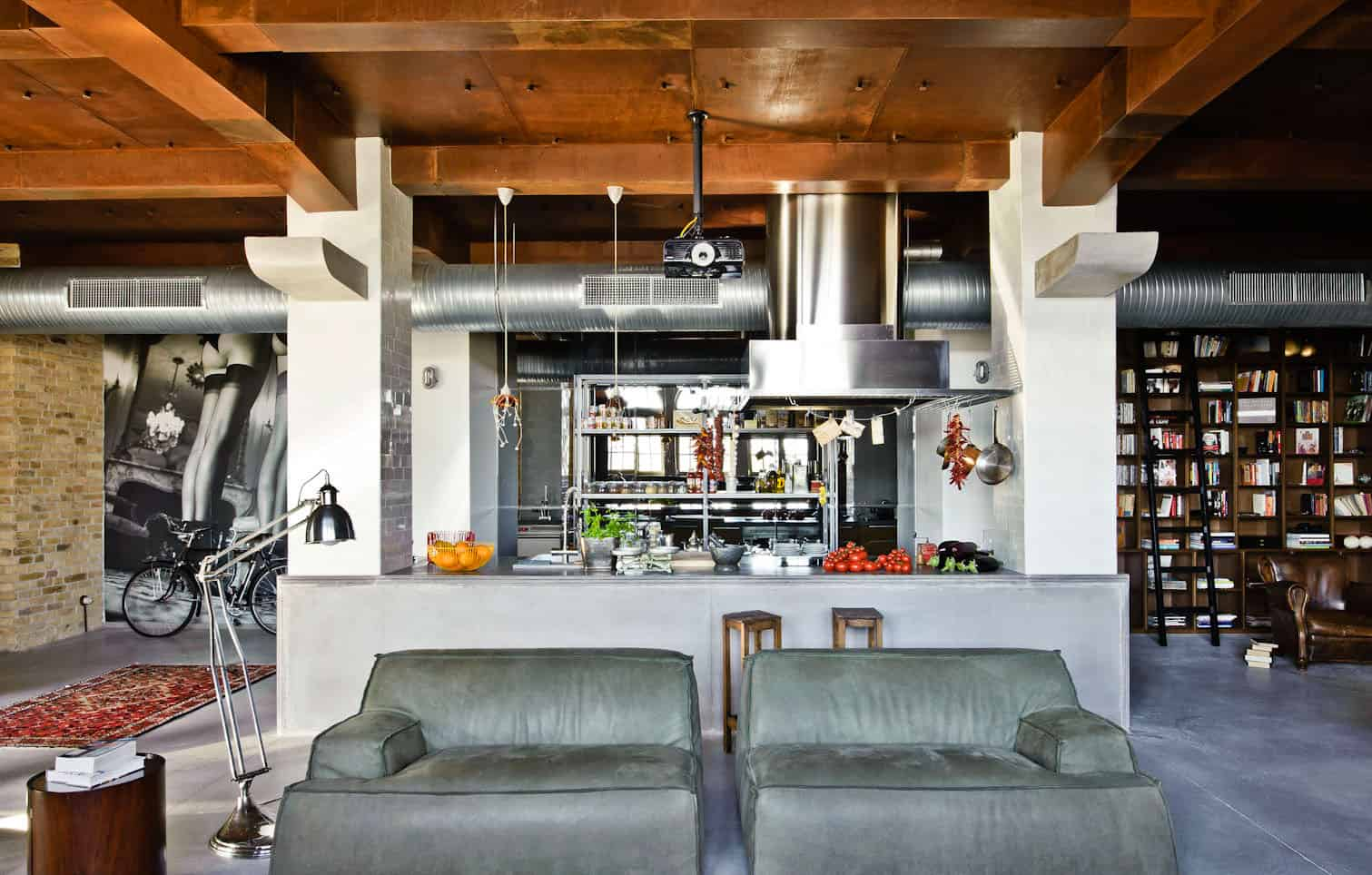 unthinkable how to furnish a loft. Eclectic Loft Apartment In Budapest By Shay Sabag Ways To Decorate A  Home Desain 2018