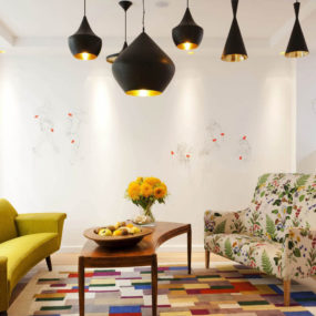 Eclectic and Colorful Design with Retro Accents