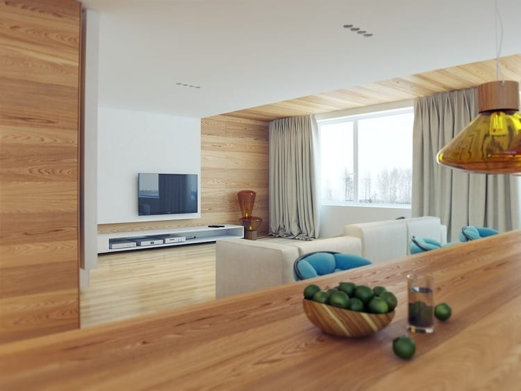 Modern Apartment Design Rendered in 3D for Client Visualization