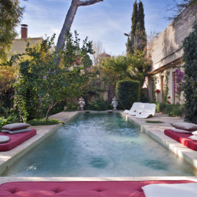 Incredible Mediterranean Style Pool Space by Maria Lladó
