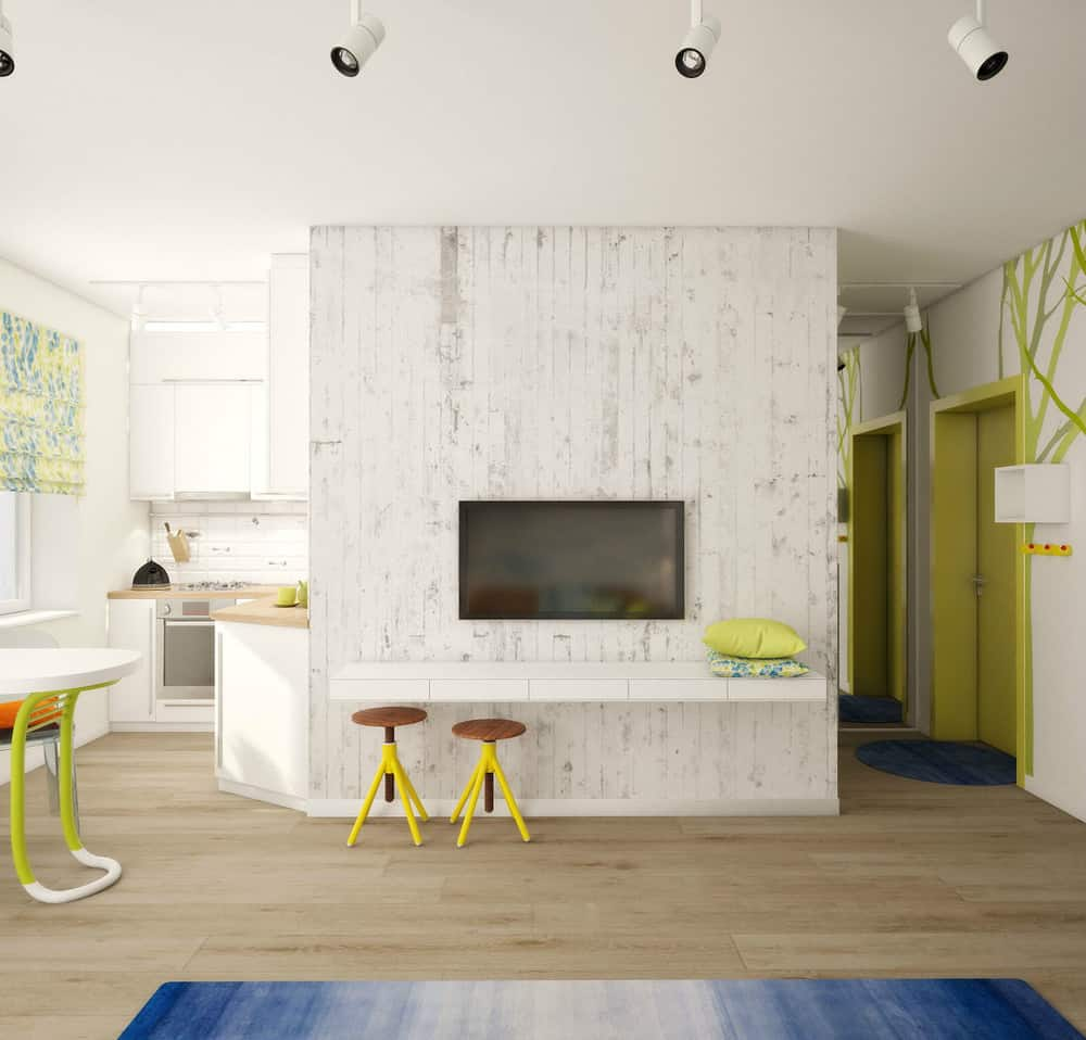 tiny apartment furniture. View In Gallery Teeny-tiny-apartment-designed-bright-spacious-3-tv. Tiny Apartment Furniture M