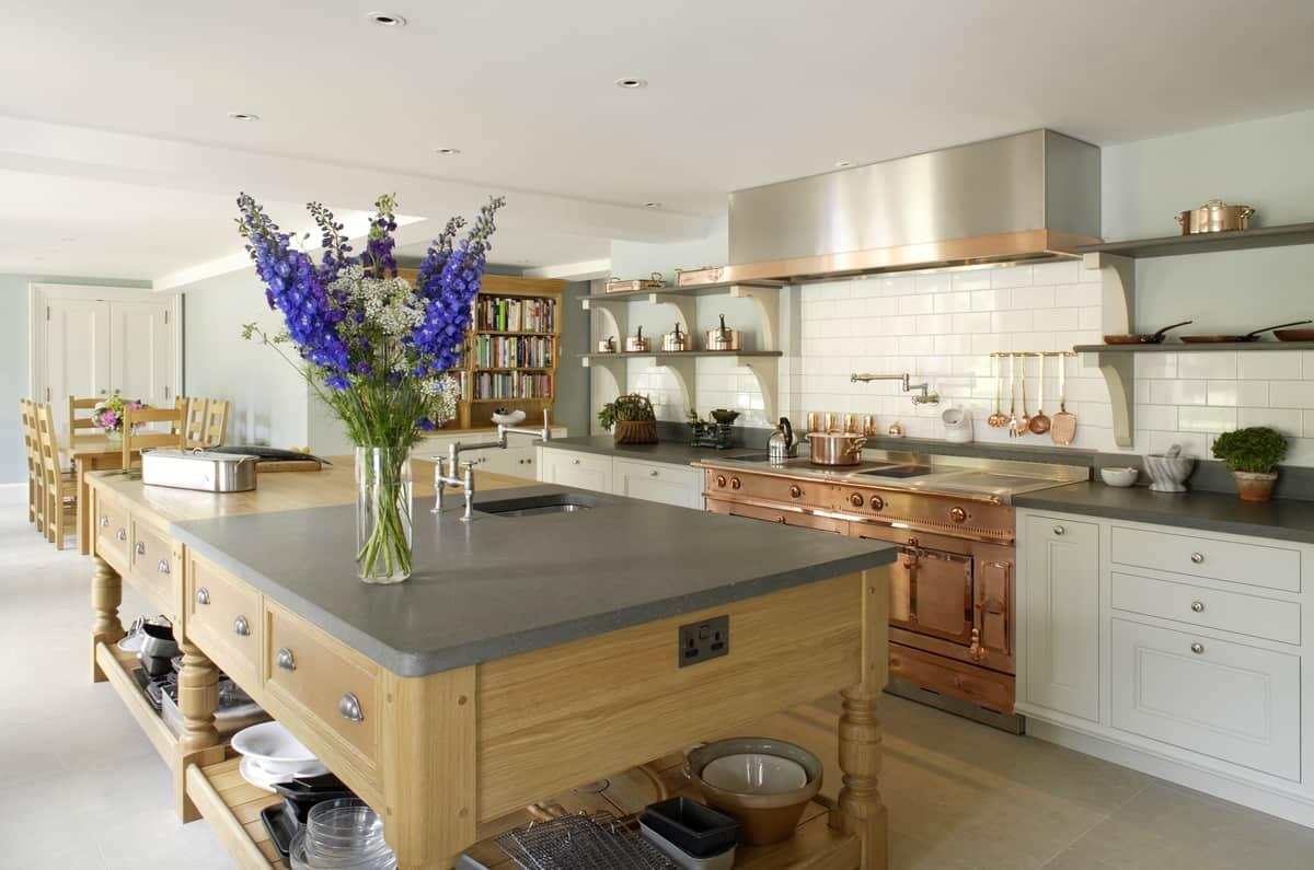 Beautiful Edwardian Style Kitchen By Artichoke