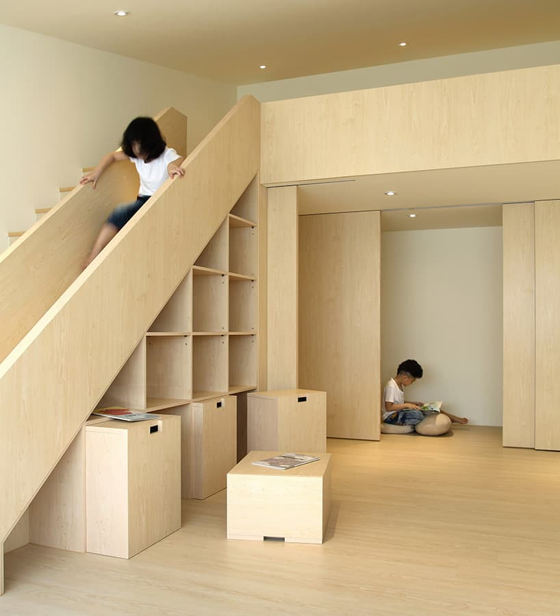 12 Storage Ideas For Under Stairs: Stair Slide For Kids, Under Stair Storage For Parents