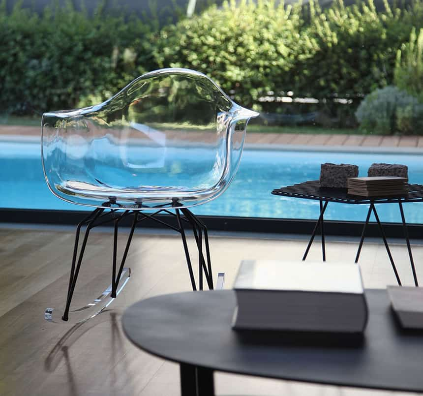 View In Gallery Clear Acrylic Chairs Less Clutter 1 Thumb 630xauto 53574 Clear  Acrylic Chairs Let You Have More
