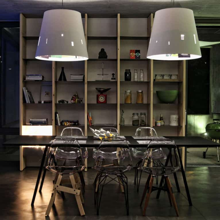 Clear Acrylic Chairs Let You Have More Furniture And Less Clutter