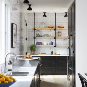 Small Farmhouse-style Kitchen Design in Detail