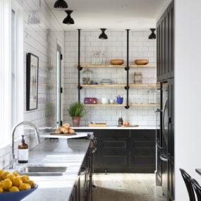 Small Farmhouse-style Kitchen Design in Detail
