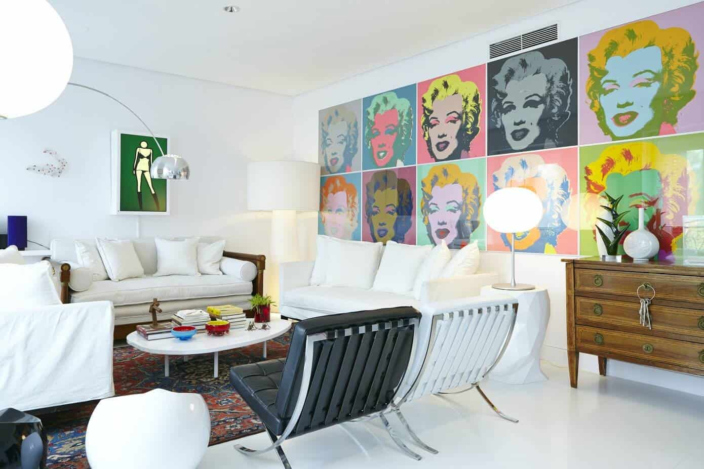 4 Examples of How a Large Statement Art Piece Defines the Room