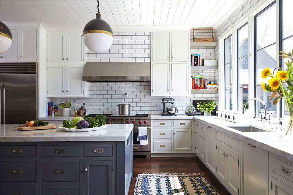 white subway tile kitchen designs are incredibly universal urban vs country 1508