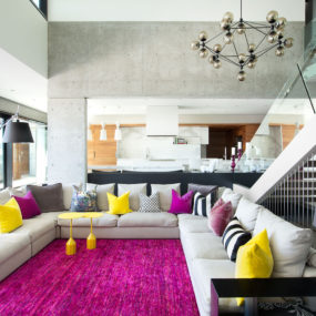 If You Love Colors You'll Love This Bright Living Room