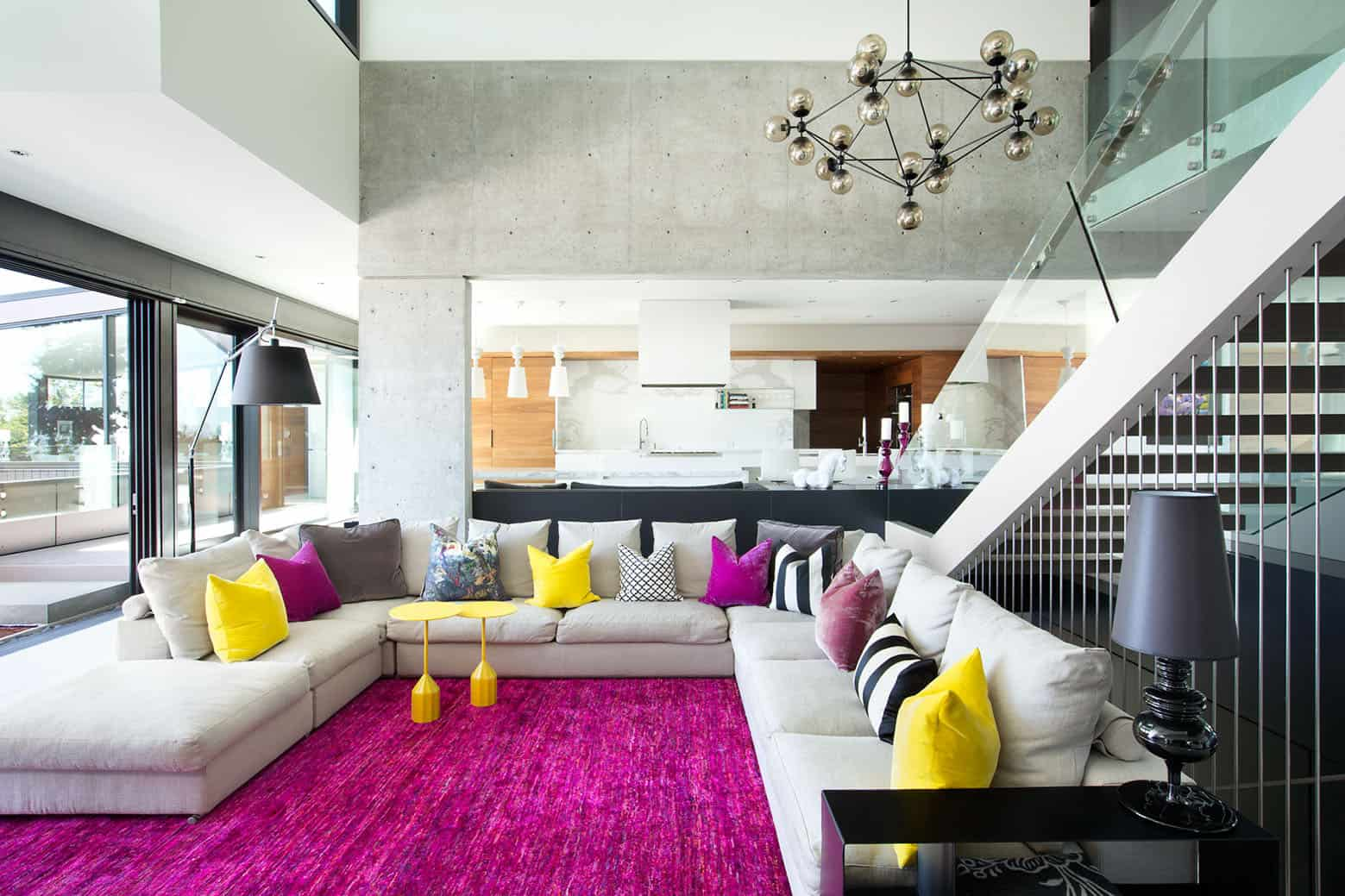 If You Love Colors You Ll Love This Bright Living Room