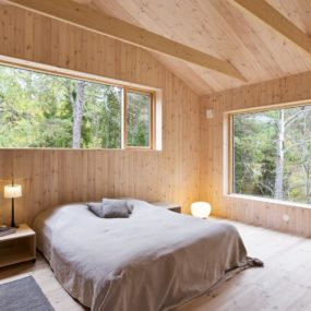 Simple Wooden Bedroom Design