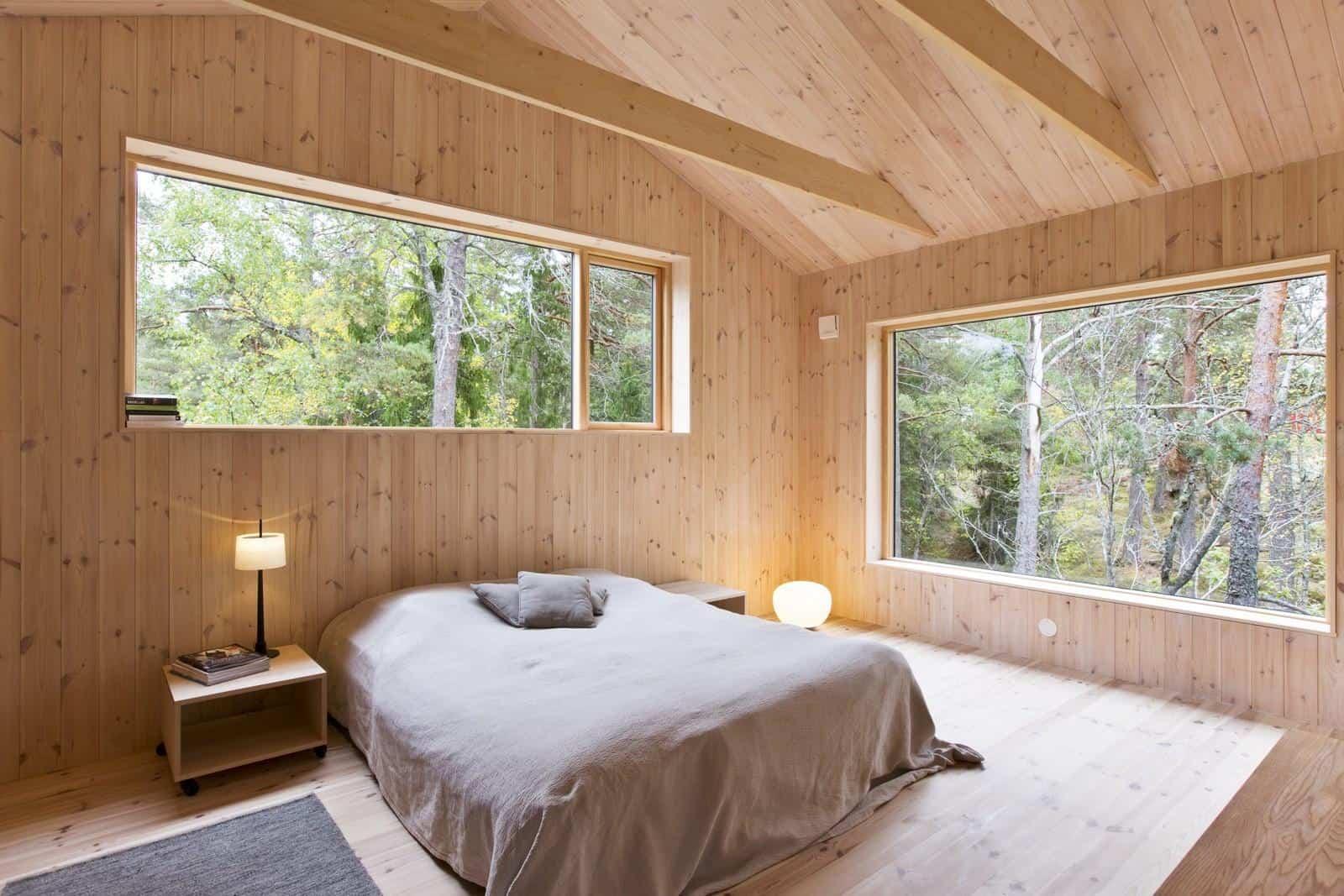 3 Simple Wooden Bedroom Design